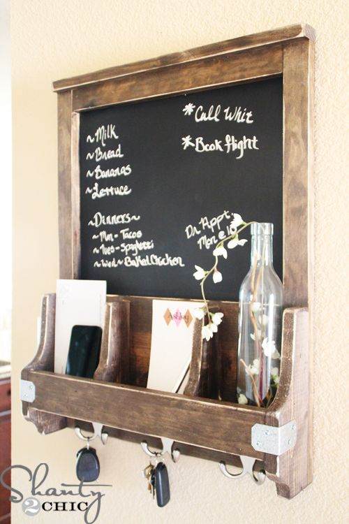 DIY Chalkboard To Do List