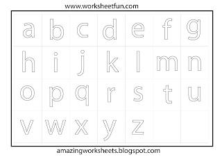 Alphabet coloring worksheet | School | Pinterest