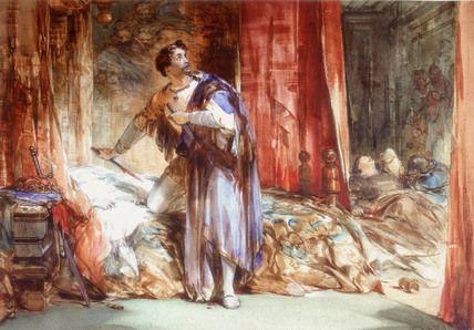 Macbeth Killing Duncan