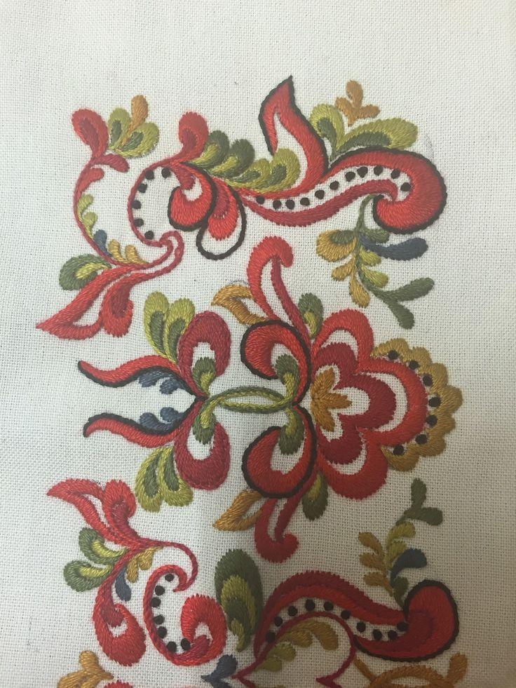 FINN – Skjorte til bunad fra Øst Telemark, prinsesse- mønster