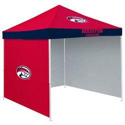 Houston Cougars NCAA 9' x 9' Economy 2 Logo Pop-Up Canopy Tailgate Tent