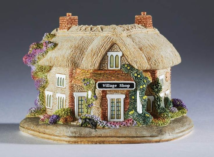 Lilliput Lane Middle England - Oxforshire - Lucky Letcombe (British Made)