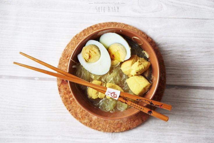 Soup from Indonesia   http://neplechanaplechu.blogspot.cz/2016/04/polevka-soto-ayam.html