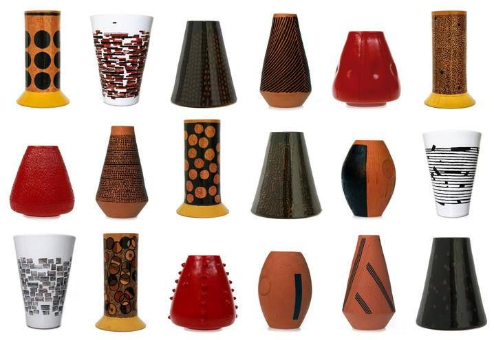 Selection of vases #kiasmo #ceramic #handamade  info on http://www.kiasmo.it/product-category/design/vases/ #artist #vincenzodalba #newcollection #surface #circle #horizontal #rain #spiral #curve #secret #newcollection #shoponline #serieluxury #luxury #terracotta #elegance #homedecoration #homeinterior #designinspiration #living #homedecor #interior #interiordesign #art #decor #design