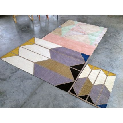 Shapes Dhurrie Rug - Small