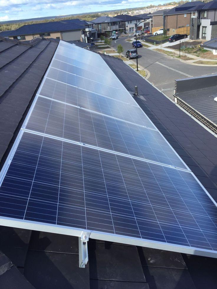 Solar panel installation in Moorebank #greenandsave #solarpanel #tier1panel #saveenergy #electronics #technology #nomorebillshock #saveelectronic
