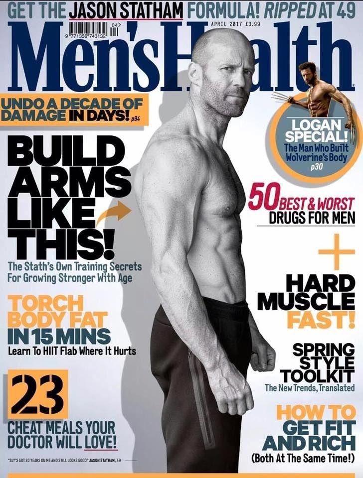 Jason Statham : Men's Health 2017