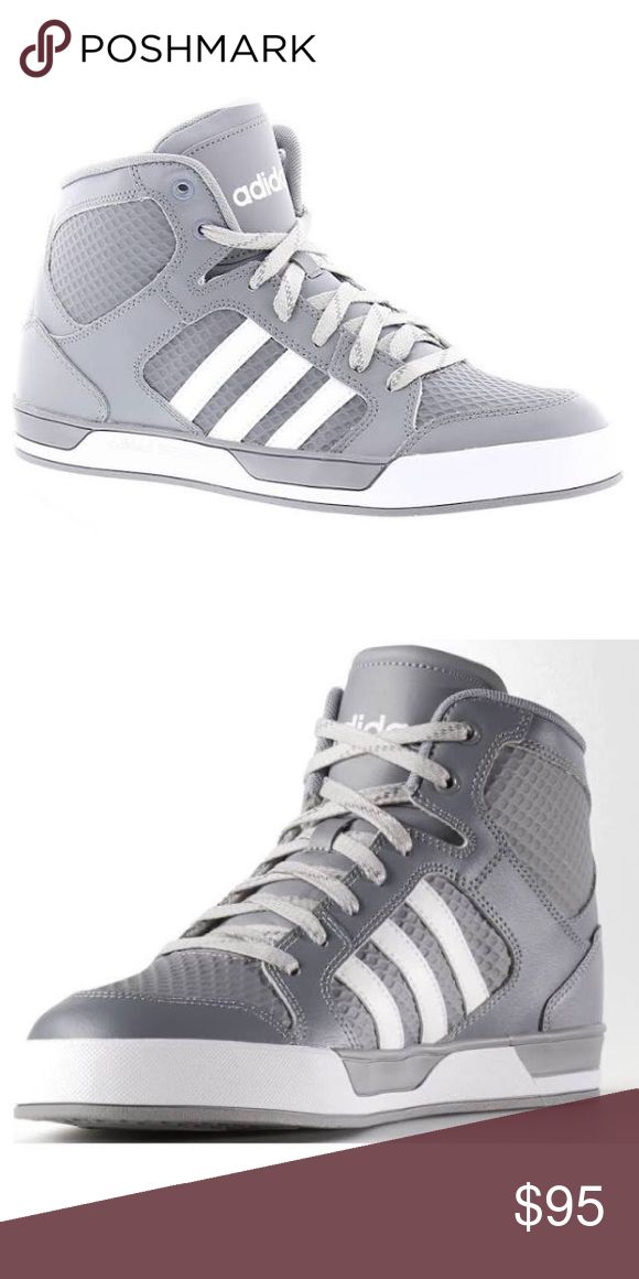 buy online bfdbe e393b Adidas NEO high top size 8 Size 8 new in box Adidas Shoes Athletic Shoes    My Posh Picks