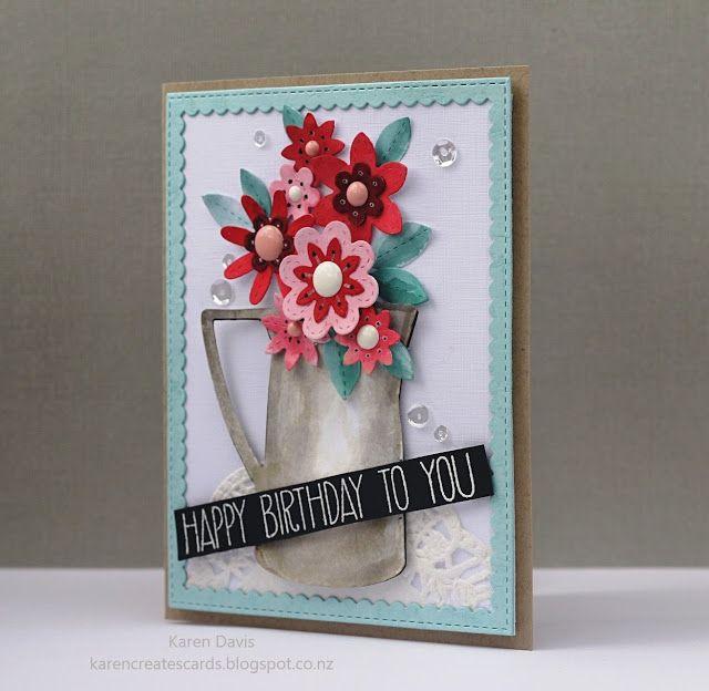 Karen Creates Cards: Cupcake Inspirations Challenge 374