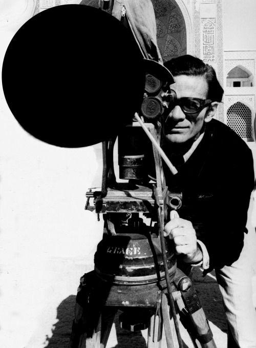 Pier Paolo Pasolini in Iran filming Arabian Nights (1974).