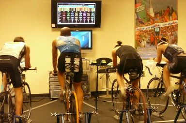 Computrainer. The best way to prep for outdoor cycling. Love it!