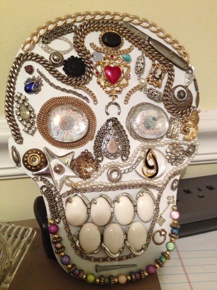 Found object skull