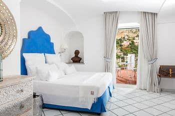ホテル ヴィラ フランカ, Positano, ジュニア ルーム キングサイズベッド 1 台 眺望未定, 客室