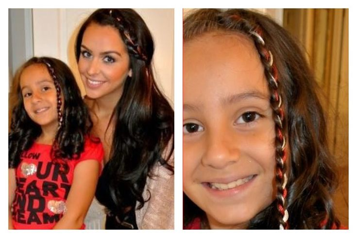 Fun DIY Colorful Summer Braids FOR ALL AGES