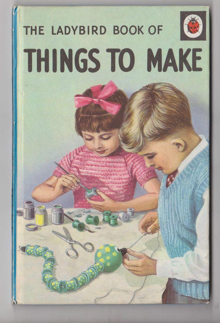 Vintage LADYBIRD book of THINGS TO MAKE series 633 | eBay///.,mar16