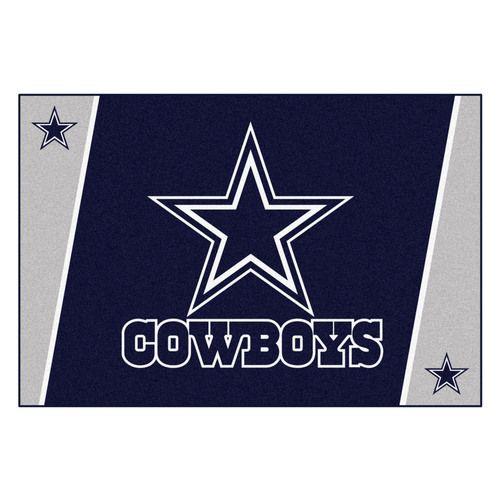 Dallas Cowboys 5' X 8' Decorative Ultra Plush Area Rug