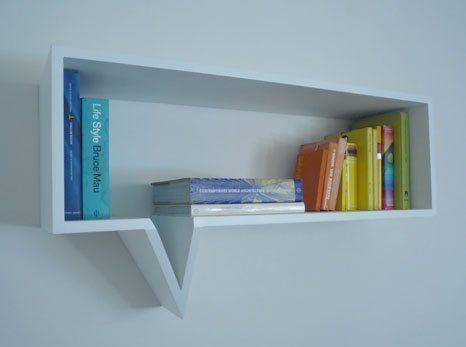 Comic Shelf by Oscar Nunez | Apartment Therapy