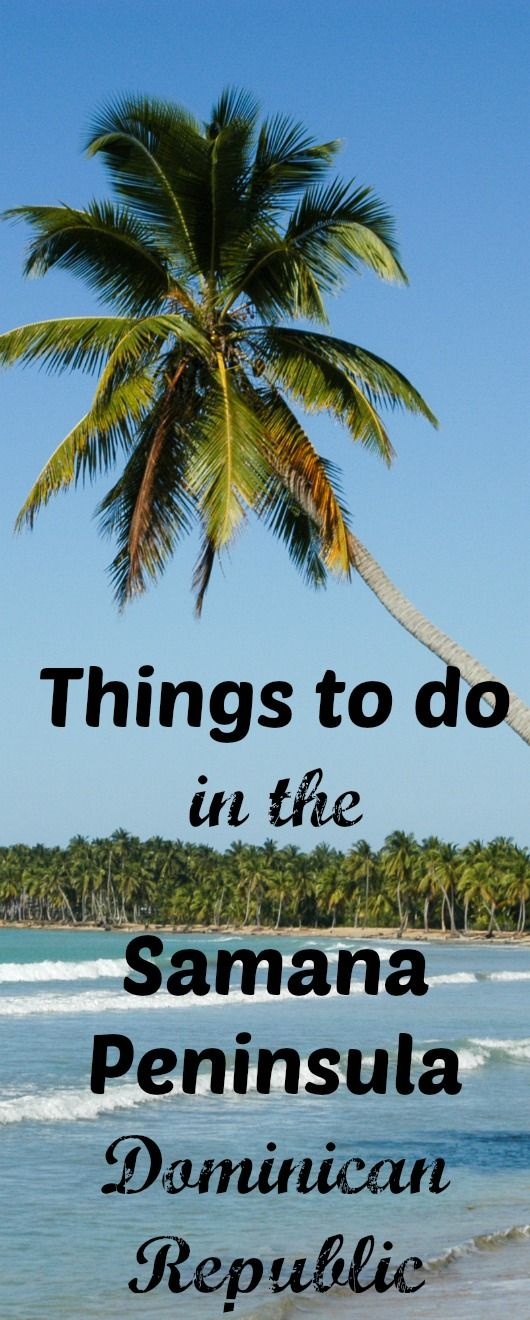 I have overlooked the Dominican Republic as a viable beach destination for my family for many year because I assumed all the destination had to offer was massive all-inclusive and cheap packaged vacations. Well, it turns out I just didn't know where to look.  It turns out there is much, much more to the Dominican Republic than package tours and all inclusives. Here are 5 reasons why you should check out the Samana Peninsula (before everyone else does!)