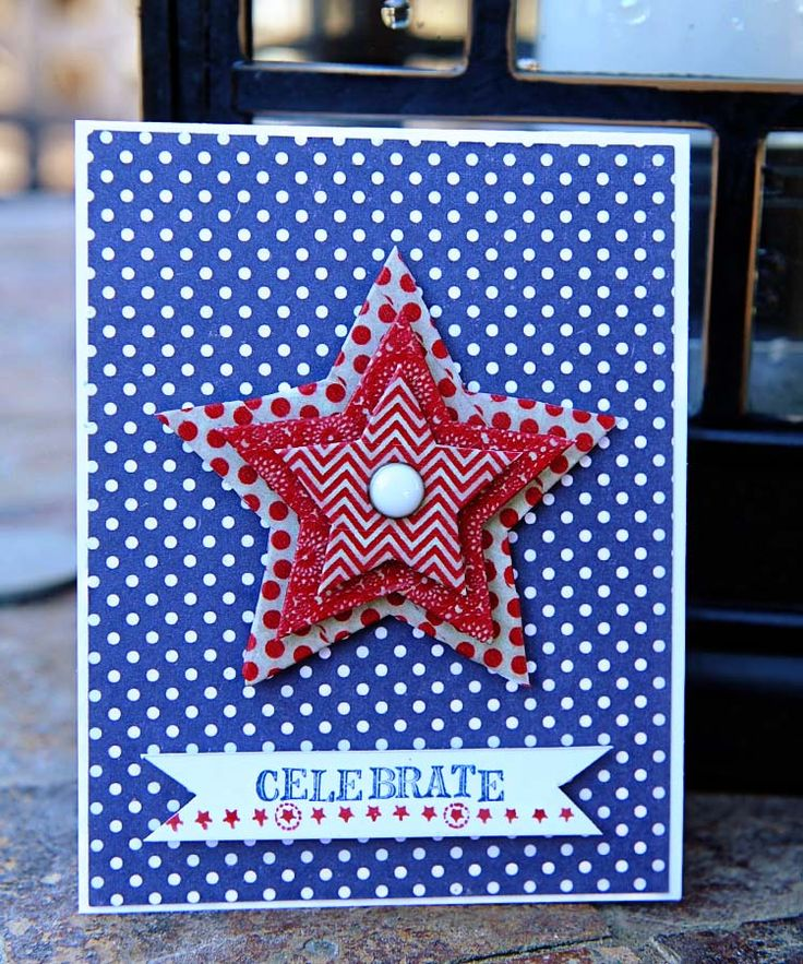 4th of july holiday cards