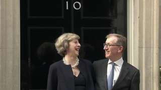 Profile: Theresa May's husband Philip - BBC News