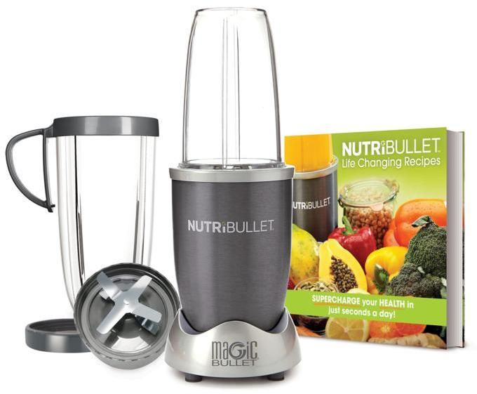 As Seen on TV NutriBullet 600 with 8-piece Set and Recipe Book