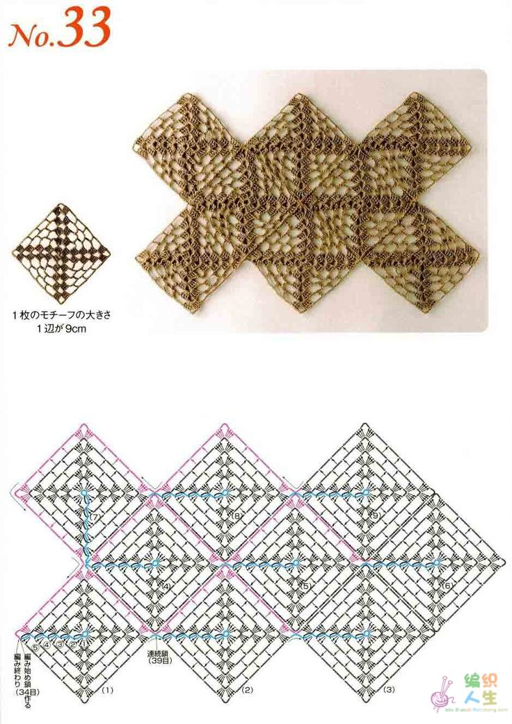 1000 mejores imágenes en Patrones de crochet en Pinterest | Motivo ...