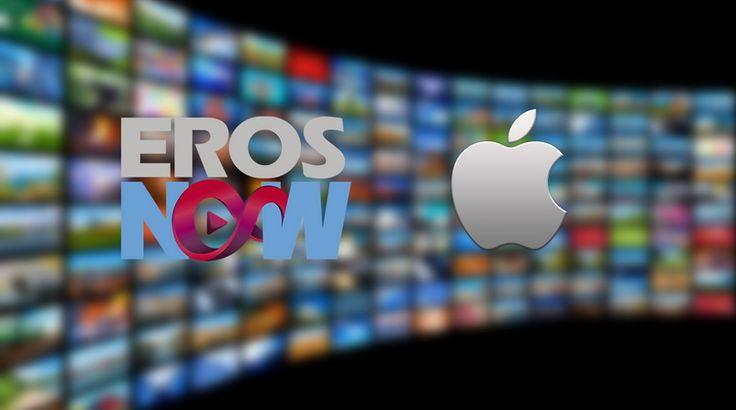 Apple być może zacznie konkurować z Netflixem i Amazonem.   #Apple #Eros Now #Stream #VOD