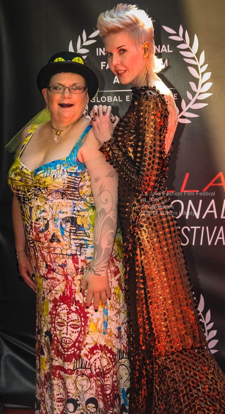 #LJFFF #redcarpet #Steampunk #fashion #style #4ChionStyle at La Jolla Fashion Film Festival La Jolla Fashion Film Festival UC San Diego Amazon.com Amazon.com/Fashion — with Daniel Chimowitz, Tammy Winger Forchion, Brooke Evangeline and Art Nevow