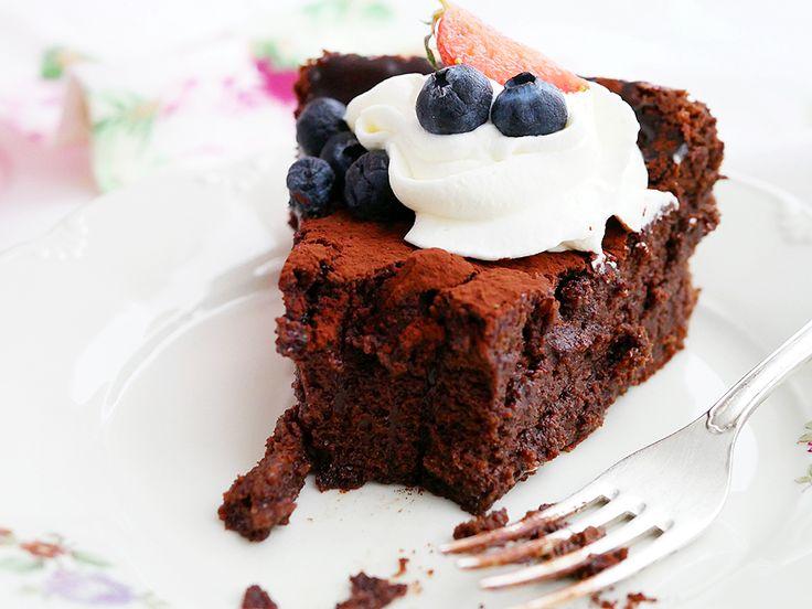 My Kitchen Stories - Glutenfri chokladtårta på 3 ingredienser