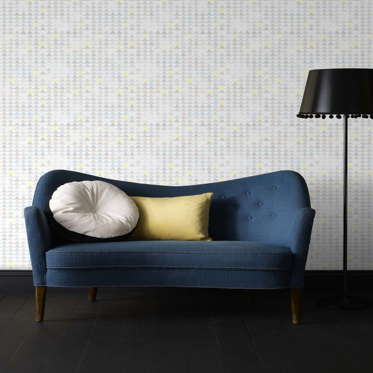 Blue Argyle Wallpaper - Geometric Wall Coverings by Graham Brown