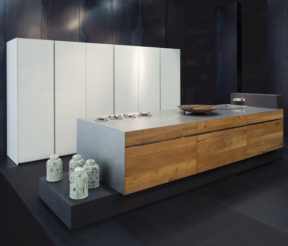 Island Kitchens | Kitchen Systems | Embossed Oak | Eggersmann. Check It On  Architonic