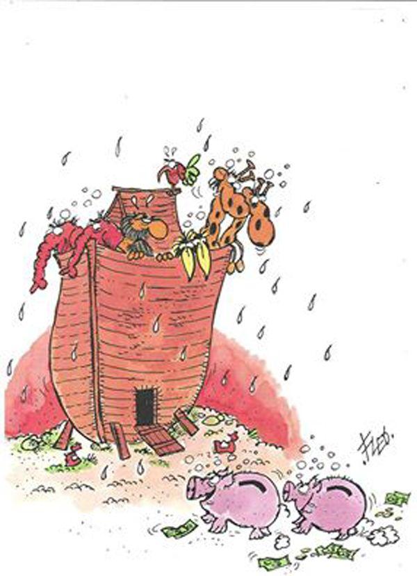 L'arca dei maialini-salvadanaio...