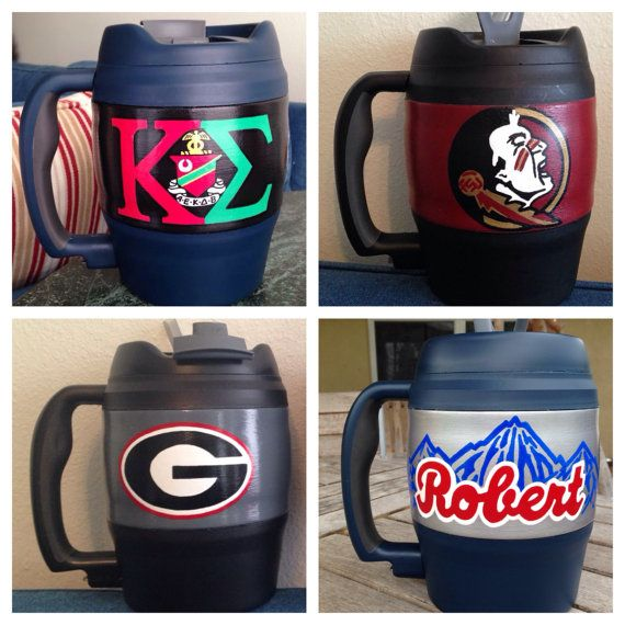 Custom Hand Painted 52oz Bubba Keg Mug by ByTheBells on Etsy