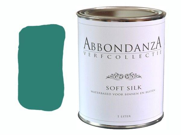 335 Soft Silk Jade prachtige blauwgroene kleur van jade.