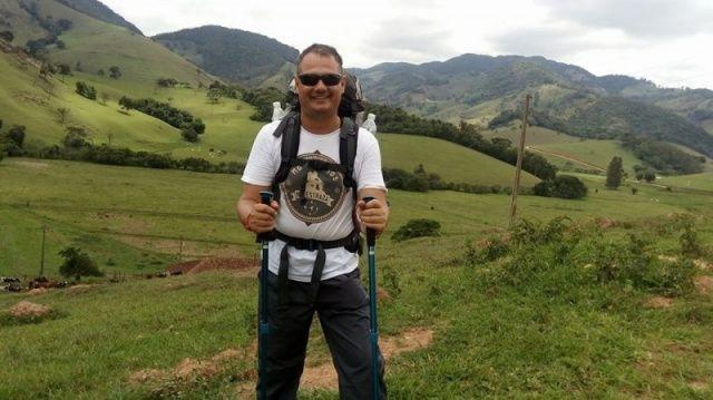 De Minas a São Paulo, caminhar 113km fez Fábio rever a fé e o que é essencial