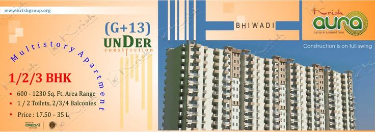 Krish Aura offers you very spacious, luxurious, multistory apartments in a Wi-Fi campus with very affordable prices. Krish Aura 3BHK apartments with floor area 800 Sqfeet (74.32 Sq Meter)22.60 Lacs.This Project in high rises configuration. Krish Aura has fully equipped luxuries apartments in Affordable Prices.You can book your apartment Now.