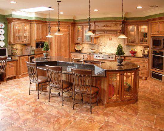 21 best images about kitchen on pinterest brass copper for Mediterranean flooring ideas