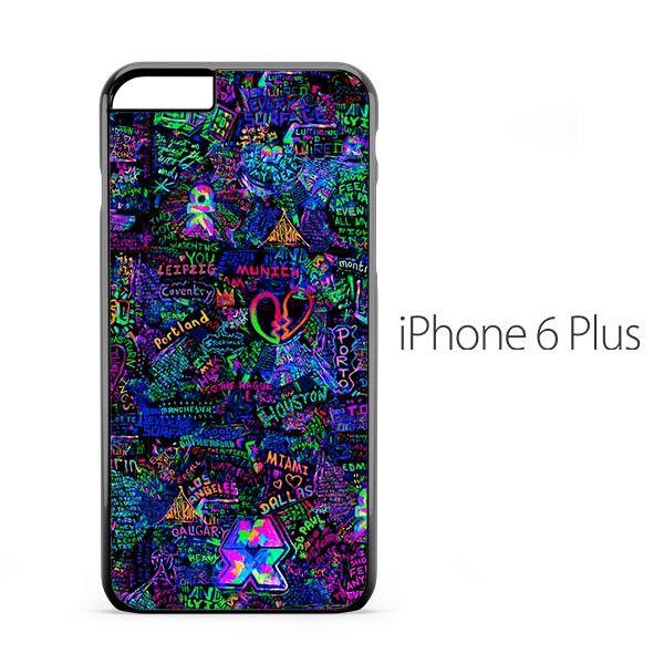 Coldplay Pattern iPhone 6 Plus Case Neeeeeeew plz make it for iPhone sixes plz