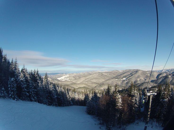 Pamporovo, Bulgaria, skiing