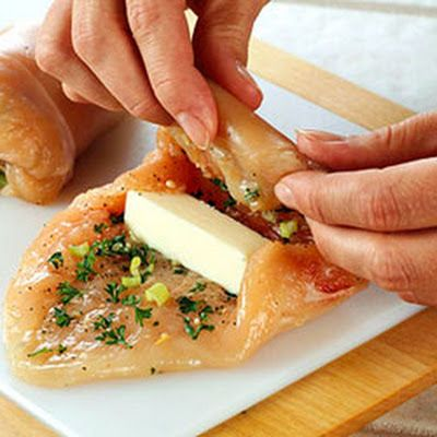 Thinking of trying this with String cheese Paleo Chicken Kiev