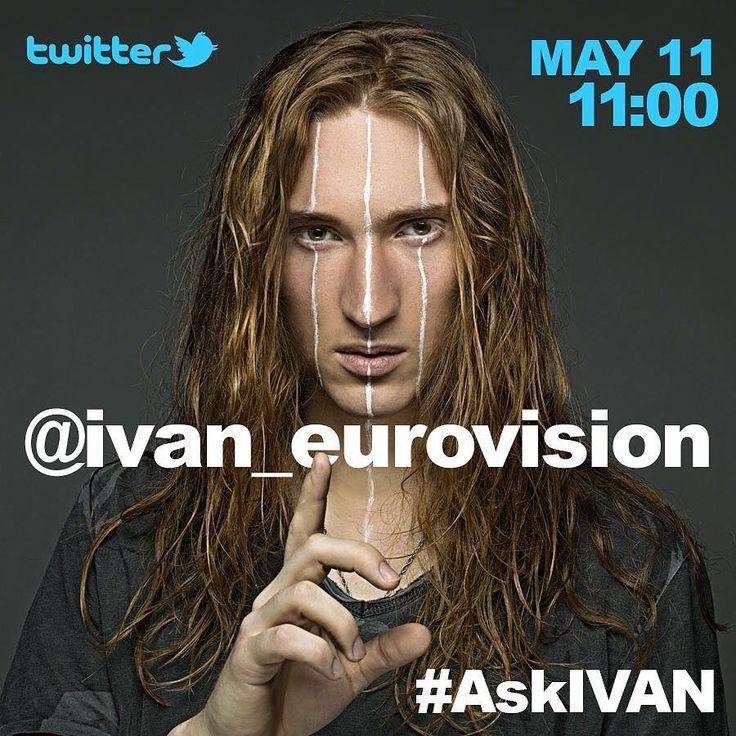 Друзья кто хочет пообщаться со мной в #twitter? Сегодня в 11:00 утра я буду отвечать на ваши вопросы - пишите мне твиты с тегом #AskIVAN! Я в твиттере @ivan_eurovision Do you have some questions? May 11 11:00 connect to my Twitter Chat  #esc #eurovision #esc2016 #eurovisionsongcontest #sweden #stockholm #belarus #евровидение #твиттер #вопросы #faq #twi #ask #me #ivaneurovision by ivan_eurovision #Eurovision #Eurovision2016