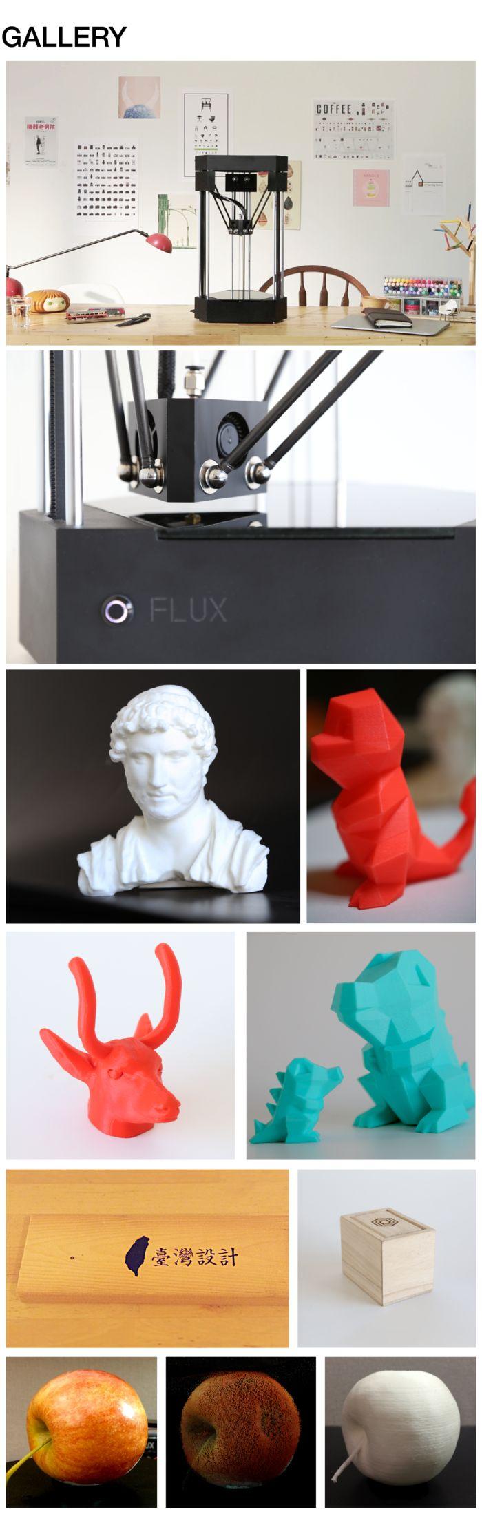 FLUX All-in-One 3D Printer - 3D Printer, 3D Scanner and Laser Engraver