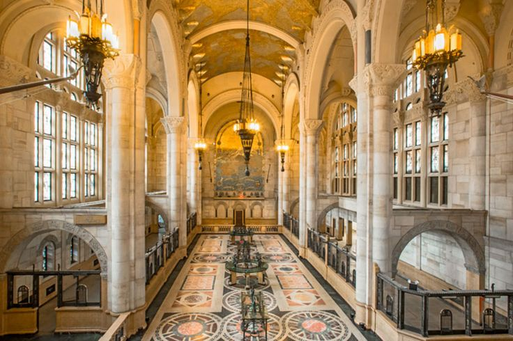 Tour New York's beautiful landmark interiors in a new exhibition at the New York School of Interior Design.