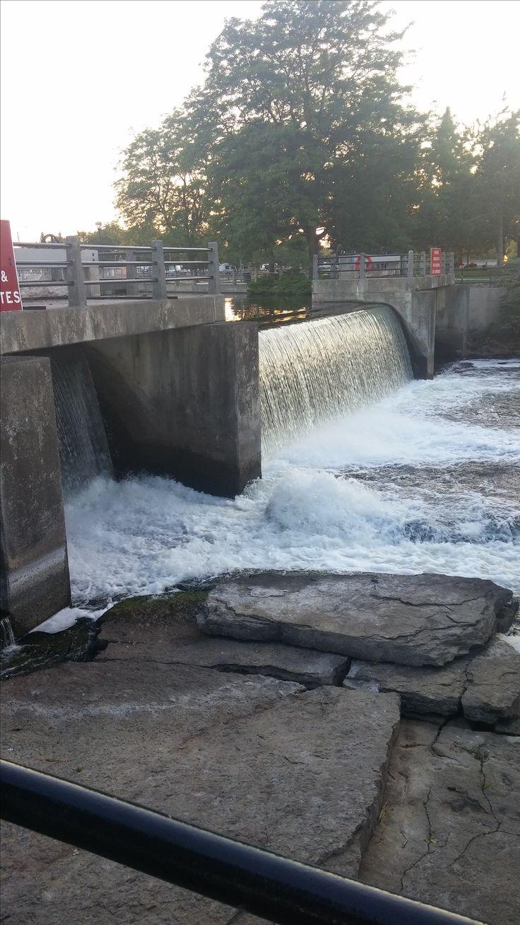 Smith Falls, Ontario near the lock.
