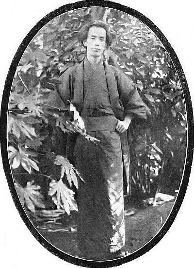 """Ryunosuke Akutagawa. September 1927, Japanese magazine """"Historical Photograph, September 1927 issue"""" published by Rekishi-Shasin Kai.Photographer unknown"""