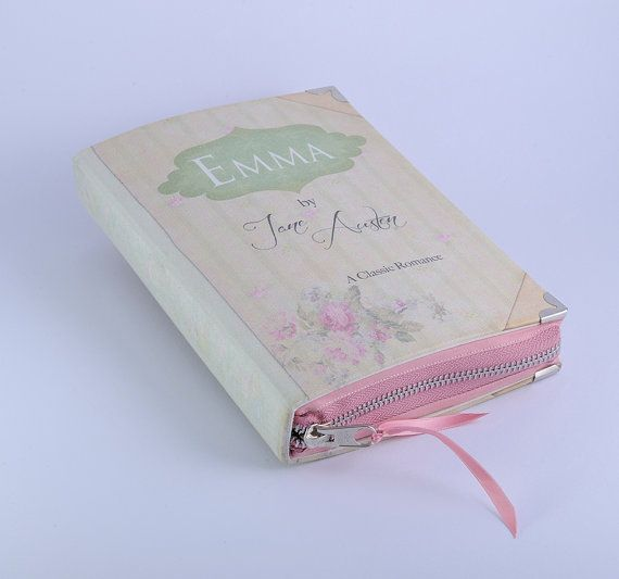 Hey, I found this really awesome Etsy listing at https://www.etsy.com/listing/100778105/jane-austen-emma-book-clutch