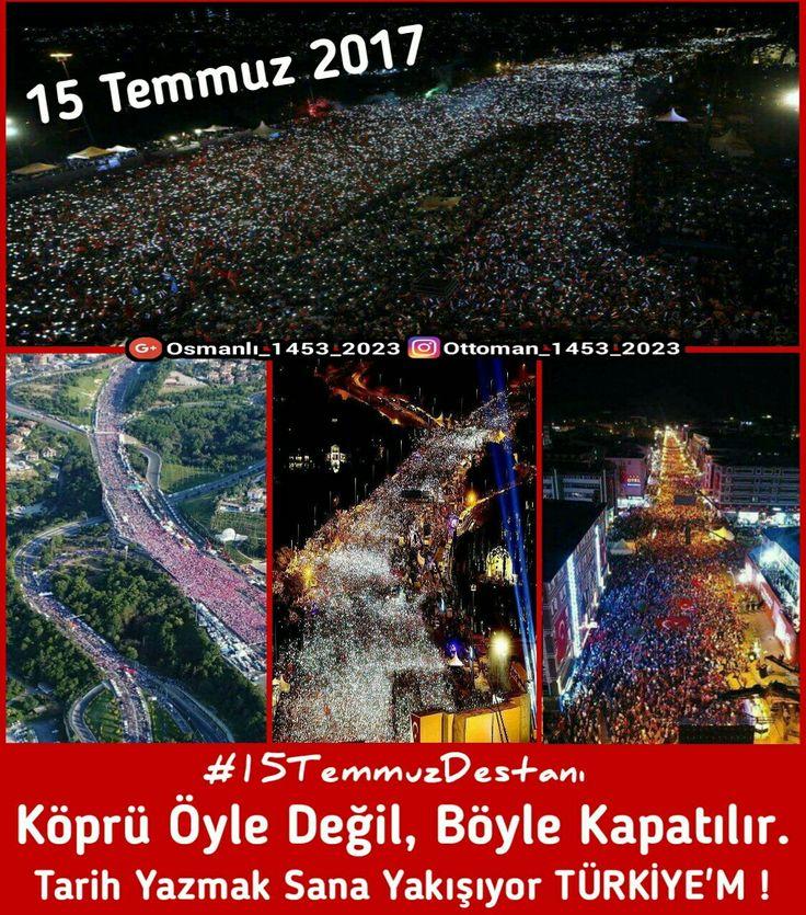 #15Temmuz #15TemmuzDestanı #Vatan #Millet #Dava #Demokrasi #Hakimiyet #Türkiye #Halk #ottoman_1453_2023 #osmanlı_1453_2023 #cihad #mücahid #ayyıldız #bayrak #namus #şeref #onur #osmanlı #ecdad #tarih #DemokrasiNöbeti #sondakika #gündem #15TemmuzŞehitlerKöprüsü #Şehit #Şehid #İstanbul #İstanbulBoğazı #Memleket #Nöbet #Asker #Polis #jöh #pöh #Köprü #ŞehitlerKöprüsü