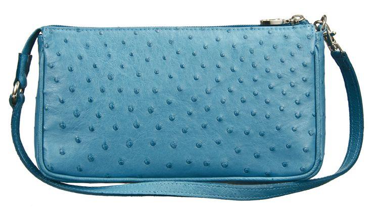 Khari Bag Munich / Material Ostrich Leather / Dimensions w23 x h13 x d4