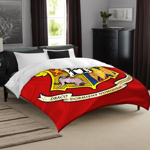 House Teams Bedding Set Inspired By Harry Potter