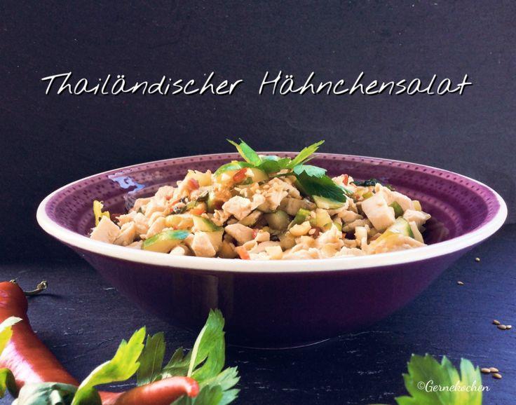 Dieser thailändische Hähnchensalat ist bestens für warme Sommertage geeignet. Schnell und leicht hergestellt, zaubert er einem Fernweh in den Gaumen.